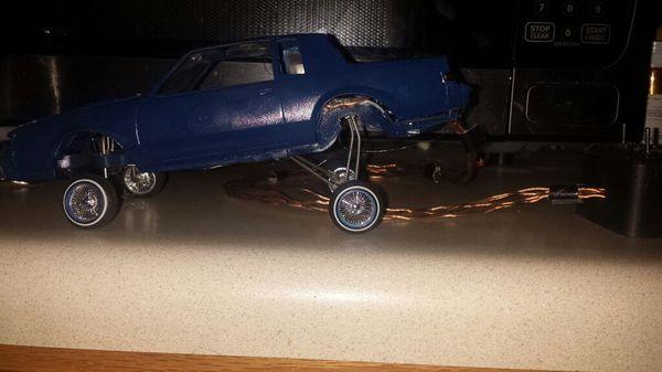 Lowrider Model Car With Hydraulics