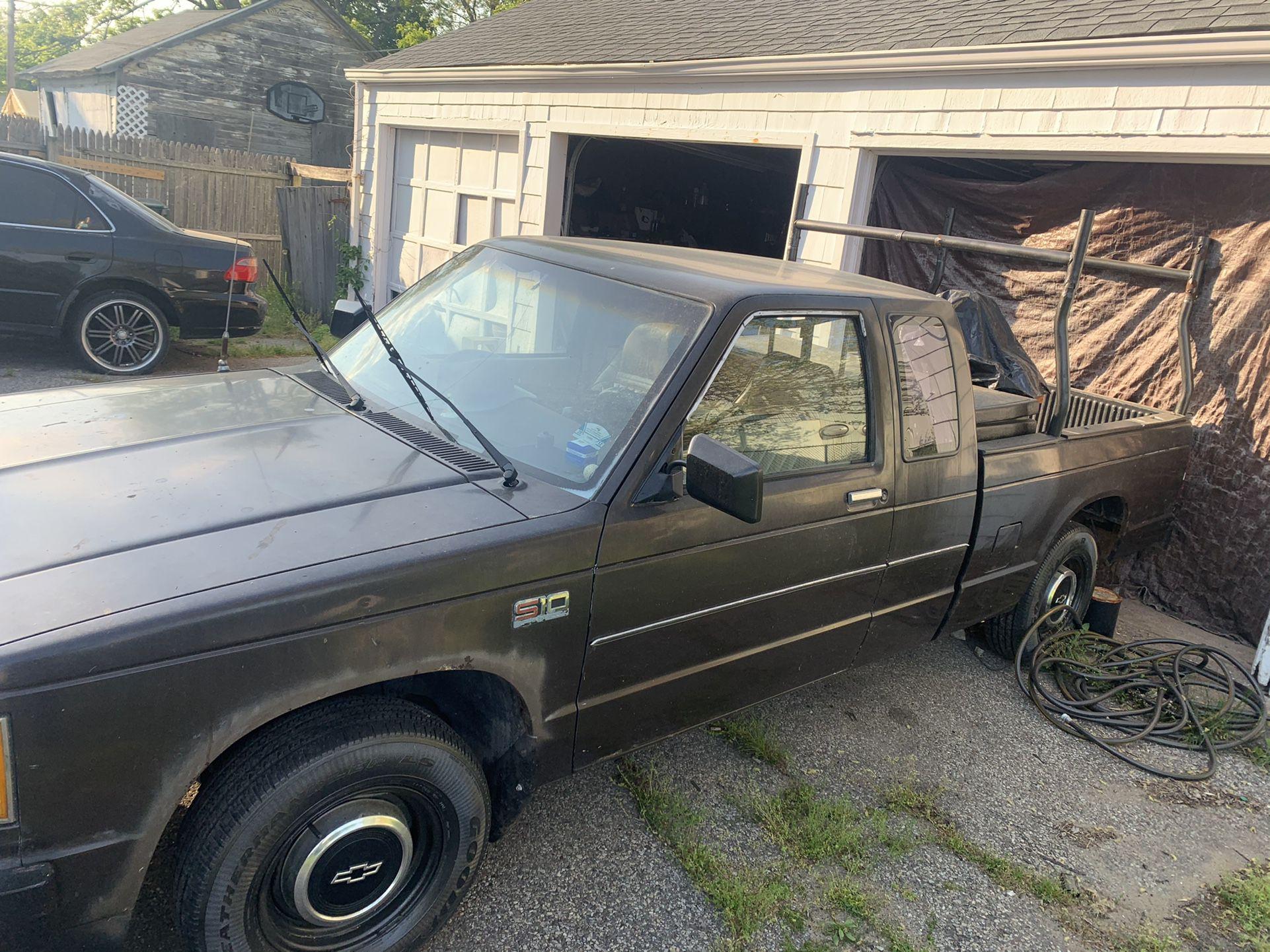 Photo Chevy S10 80s Chevy S10