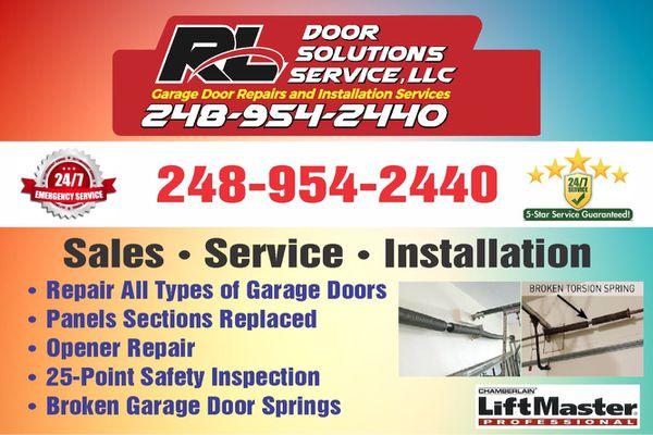 Garage Door Service Same Day For Sale In Farmington Hills Mi Offerup