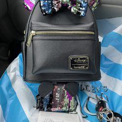 DisneyLoungefly Mini Backpack Thumbnail