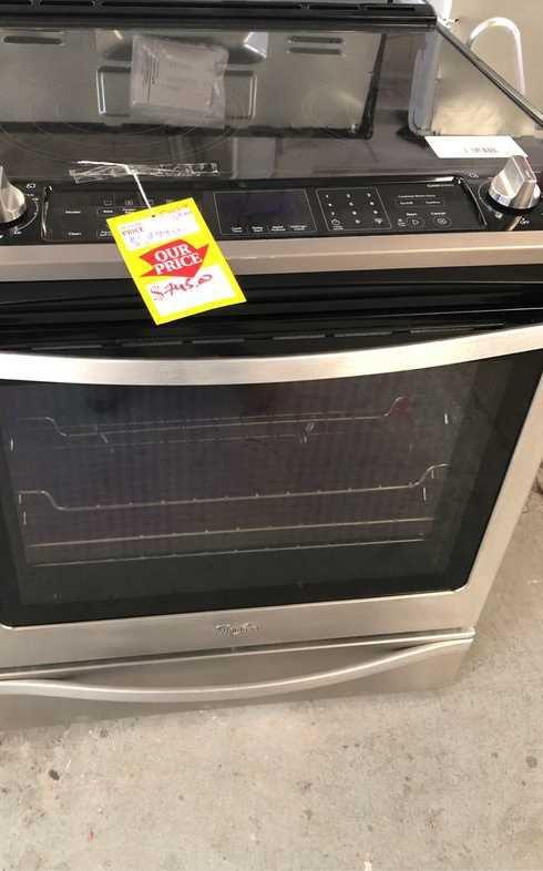 Whirlpool stove LKUVF