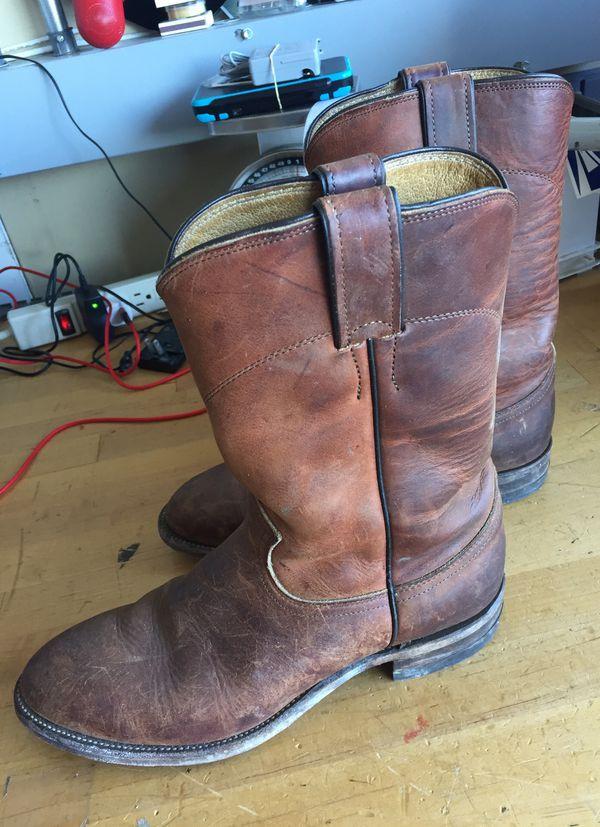 5d08420a811 Justin men's cowboy boots size 7D for Sale in El Cajon, CA - OfferUp