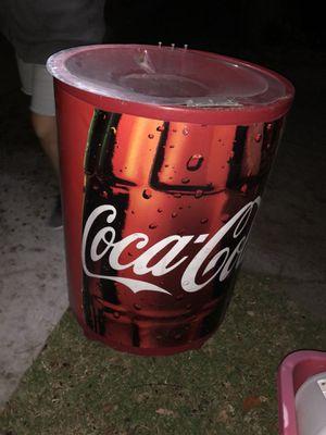 Photo Vintage Coca Cola cooler