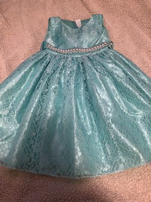 0e47c604f42a Aqua green dress size 4t  10 no rips or stains pickup only for Sale in San