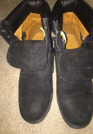 all black timberlands size 9'5 for Sale in Baltimore, MD