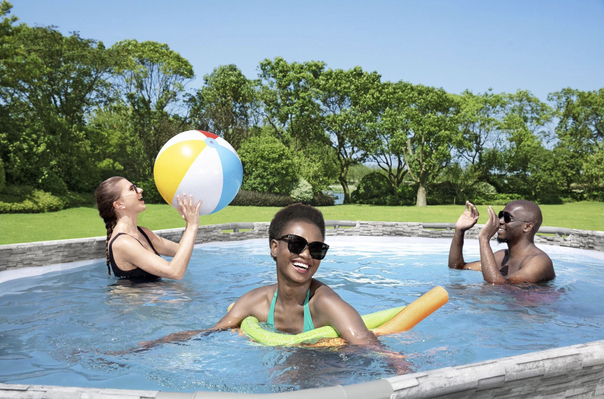 POOL - Oval Swimming Pool Brand New Free Delivery! Rainy Day Sale!