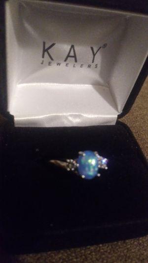 Photo Katy Jewelers Fire Opal Ring