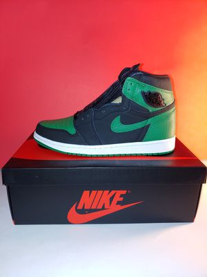 Photo Brand New in Box Nike Jordan retro 1 Pine Green Size 10