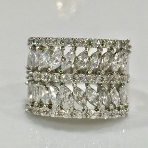 Sterling silver plated sapphire ring wrap ring for Sale in Silver Spring, MD