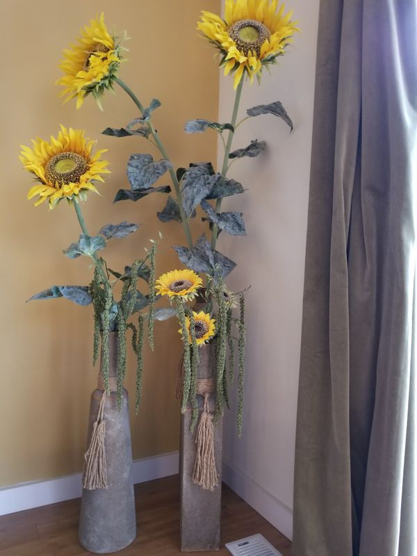 Sunflowers And Three Vases For Sale In Kirkland Wa Offerup