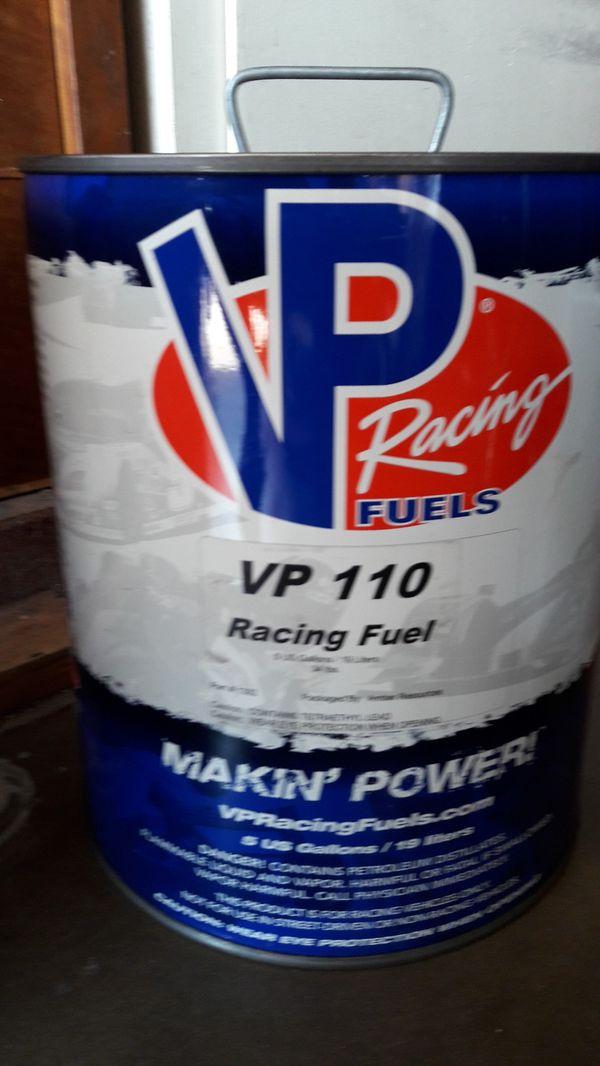 VP 110 octane racing fuel 5gal for Sale in Norwalk, CA - OfferUp