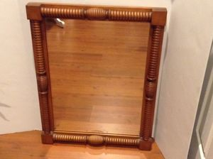 """Conant Ball Famous Reproductions of Old New England Furniture Wall Mirror Rock Maple Vintage 28""""x21""""x2"""" for Sale in Glenwood, MD"""