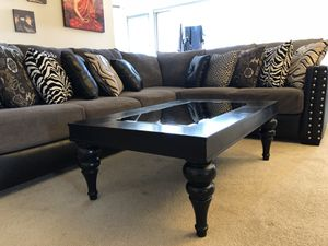 Sectional Couch and coffee table for Sale in McLean, VA