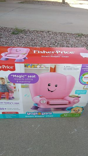 Fisher Price Laugh&Learn Smart Stages Chair for Sale in Glendale, AZ