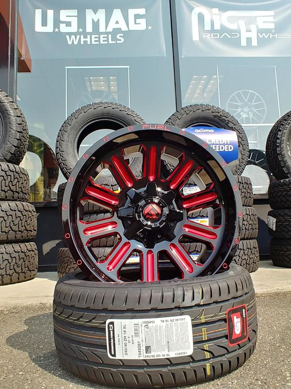 Fuel Truck Wheels >> New 20 Fuel Wheels Large Selections For Sale In Joint Base Lewis