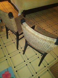 Rope braided chair set Thumbnail
