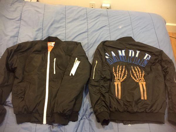 SAMPLE IND BOMBER JACKETS SZ M BRAND NEW