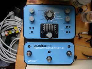 Source Audio Soundblox Multiwave Bass Distortion Pro for Sale in March Air Reserve Base, CA