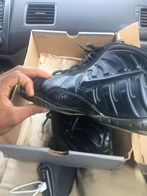b6e5f700bbf 2000 Vintage Nike Foamposite Pro Blackout. for Sale in Lake Ridge ...