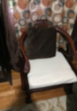 Furniture... made all wood two night tables and two chairs Thumbnail