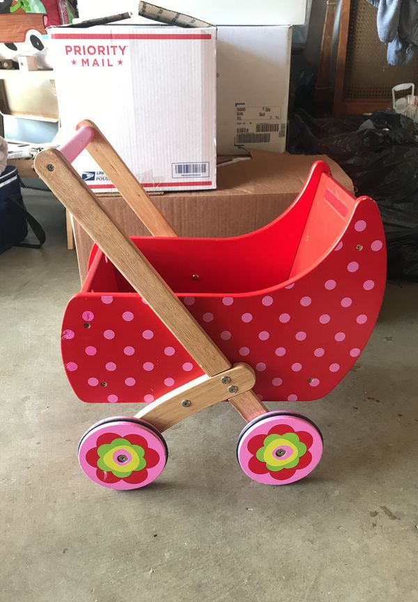 Dushi Doll Stroller Wooden For Sale In Corona Ca Offerup