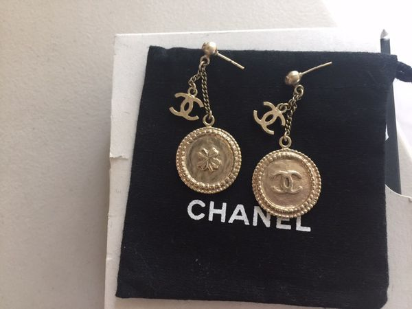 78e9f51cc4d1af Chanel CC drop earrings for Sale in Los Angeles, CA - OfferUp