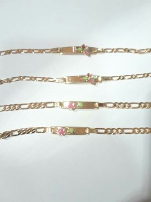lindas pulseras para niña oro brasileño for Sale in Manassas, VA