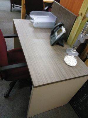 Professional Grey Office Desk For Sale In Edgewood MD