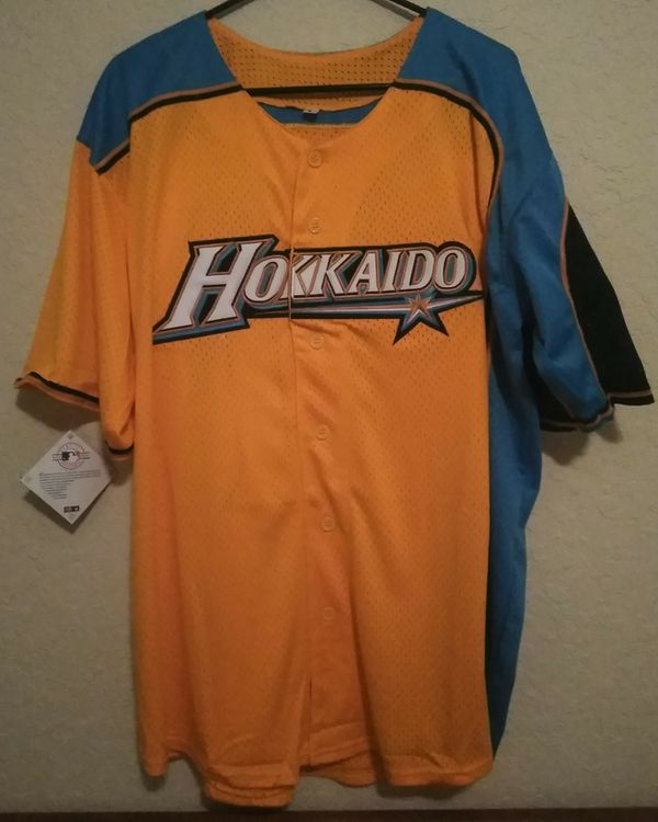 the latest 3aef8 d9585 Hokkaido Nippon Ham Fighters Jersey Shirt Shohei Ohtani Men's Size Large.  for Sale in Port St. Lucie, FL - OfferUp