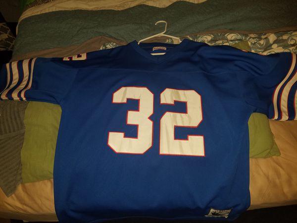Authentic OJ Simpson jersey