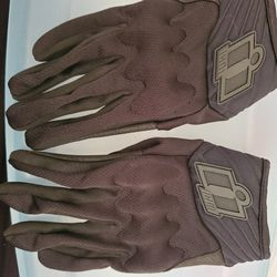 Mens Small Icon Anthem 2 CE motorcycle Gloves Thumbnail