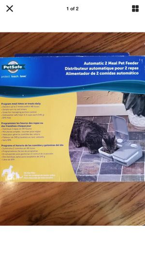 PetSafe Automatic 2 Meal Pet Feeder, for Sale in Clermont, FL