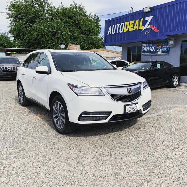 2016 Acura MDX Sport Utility For Sale In Fresno, CA