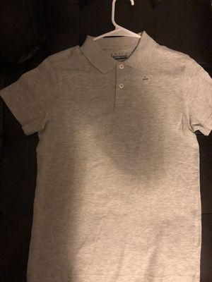 Boys Light Grey button up Jersey for Sale in Silver Spring, MD