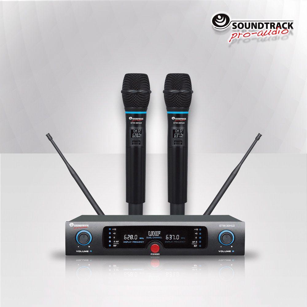 STW-30HU2. Wireless Microphones.Brand new.Two channels