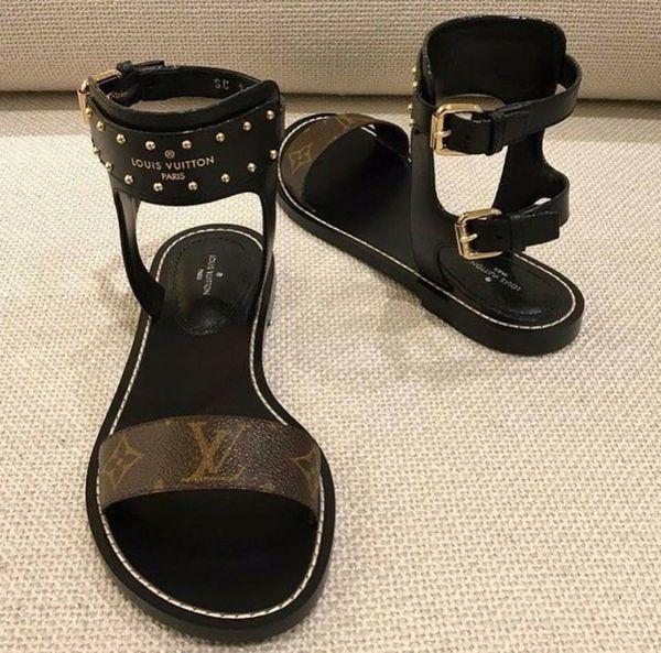 b68b1b022d5 LV signature Gladiator Sandals for Sale in Atlanta