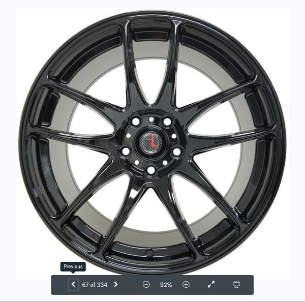 "18"" Wheels New In Boxes 5 Lug Honda Acura Nissan Toyota"