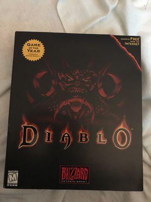 diablo pc video game for Sale in Sumner, WA