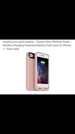 Rose Gold Iphone 7 Mophie Case for Sale in Fort Meade, MD