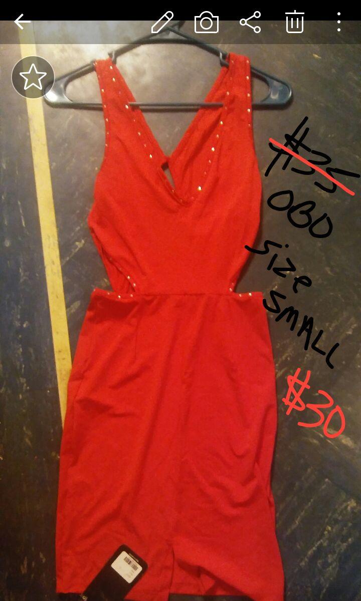 Beautiful red dress size small
