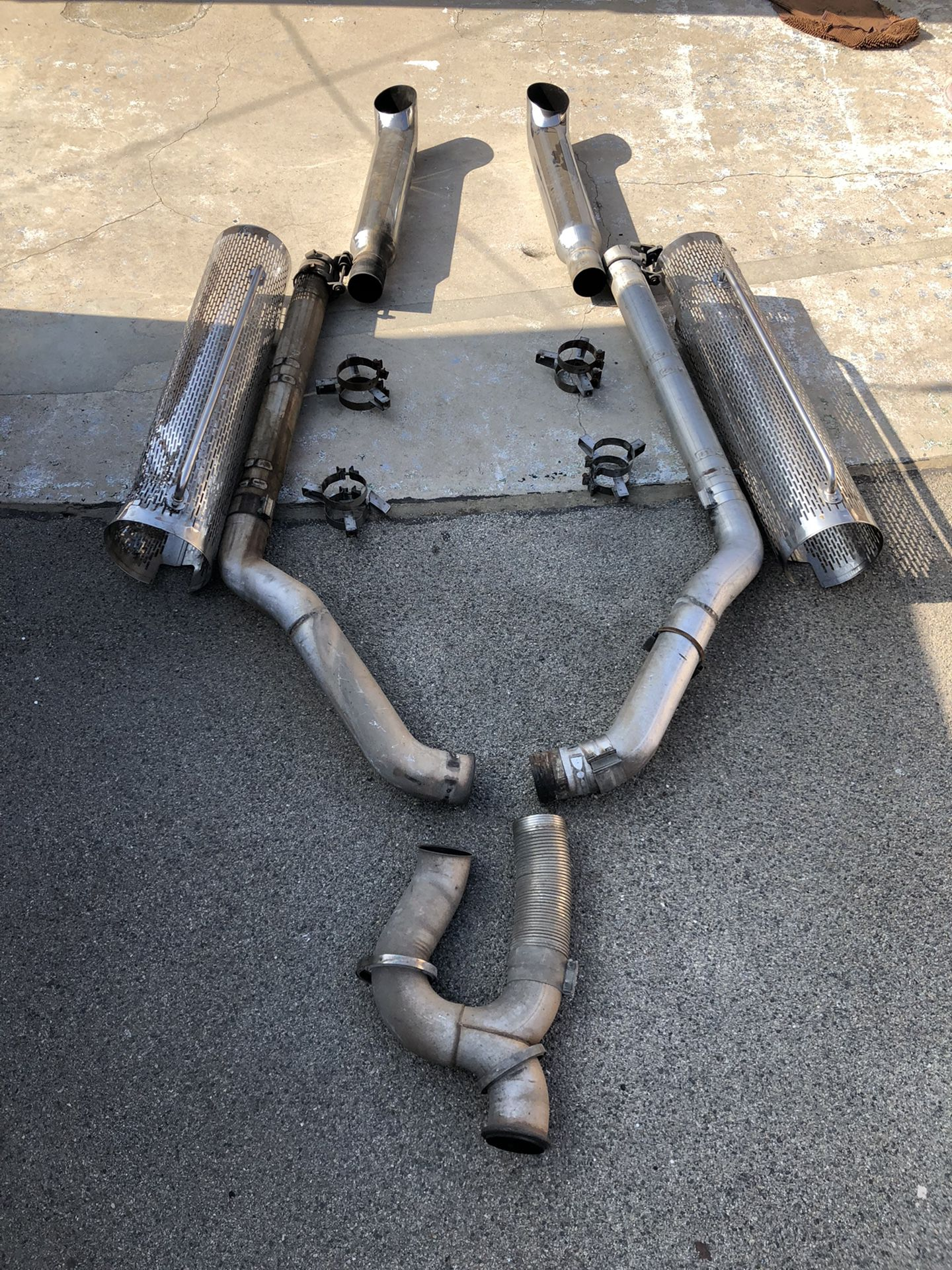 Exhaust Stack Pipes Peterbilt