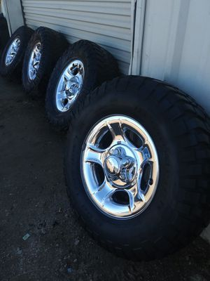 Photo Rims and tires Ford f150
