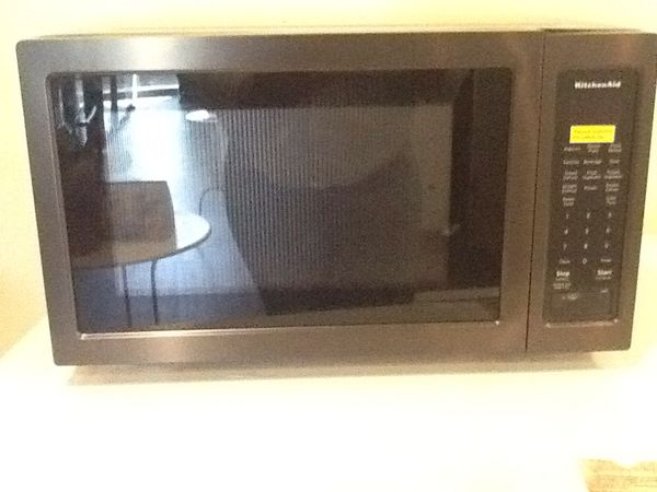 Kitchenaid Black Microwave Kmcs10166bso New Open Box For