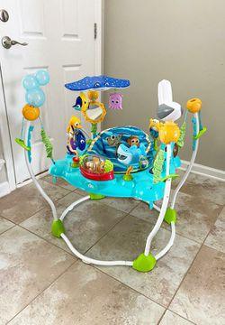 Disney Baby Finding Nemo Sea of Activities Jumper Thumbnail