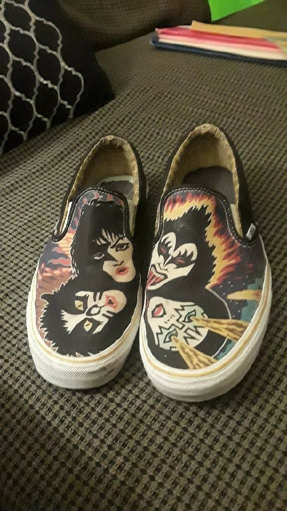 72c9160272 Limited Edition KISS Vans for Sale in Wichita