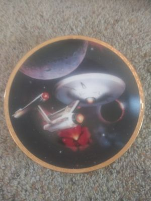 Photo Hamilton collection star trek plates6