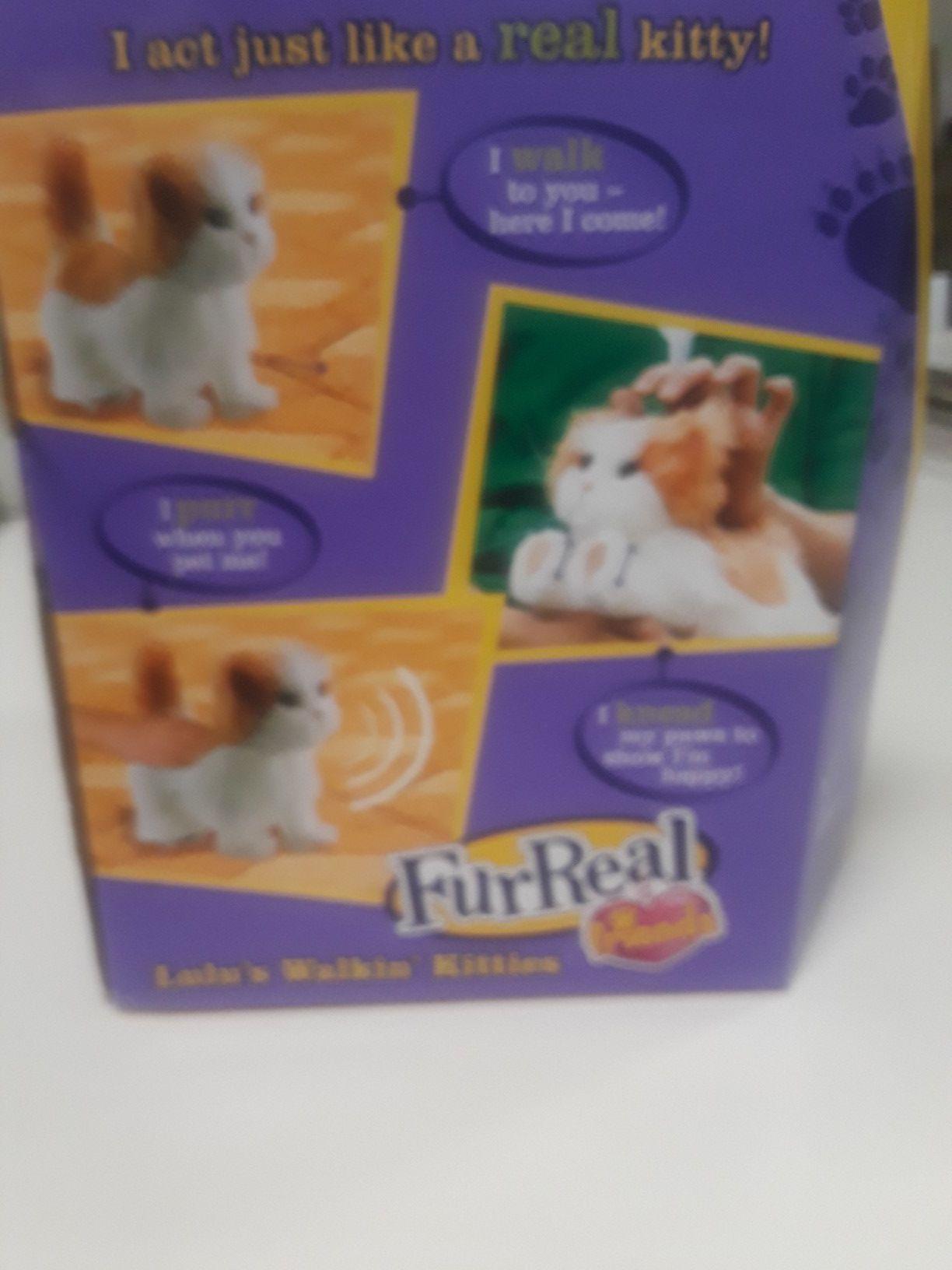 Lulu kitten by Furreal toys