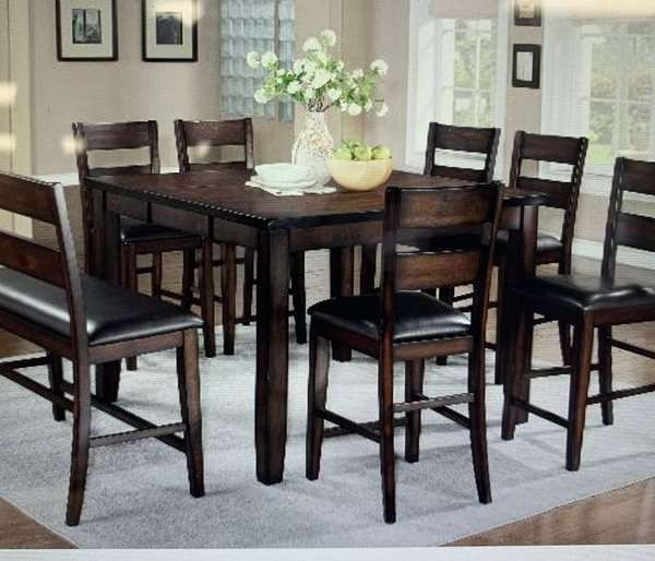 6pcs Counter Hight Dining Table Brand New Price Dirm