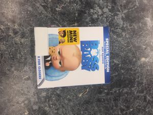 The Boss baby Blu-ray + DVD + digital hd for Sale in Washington, DC