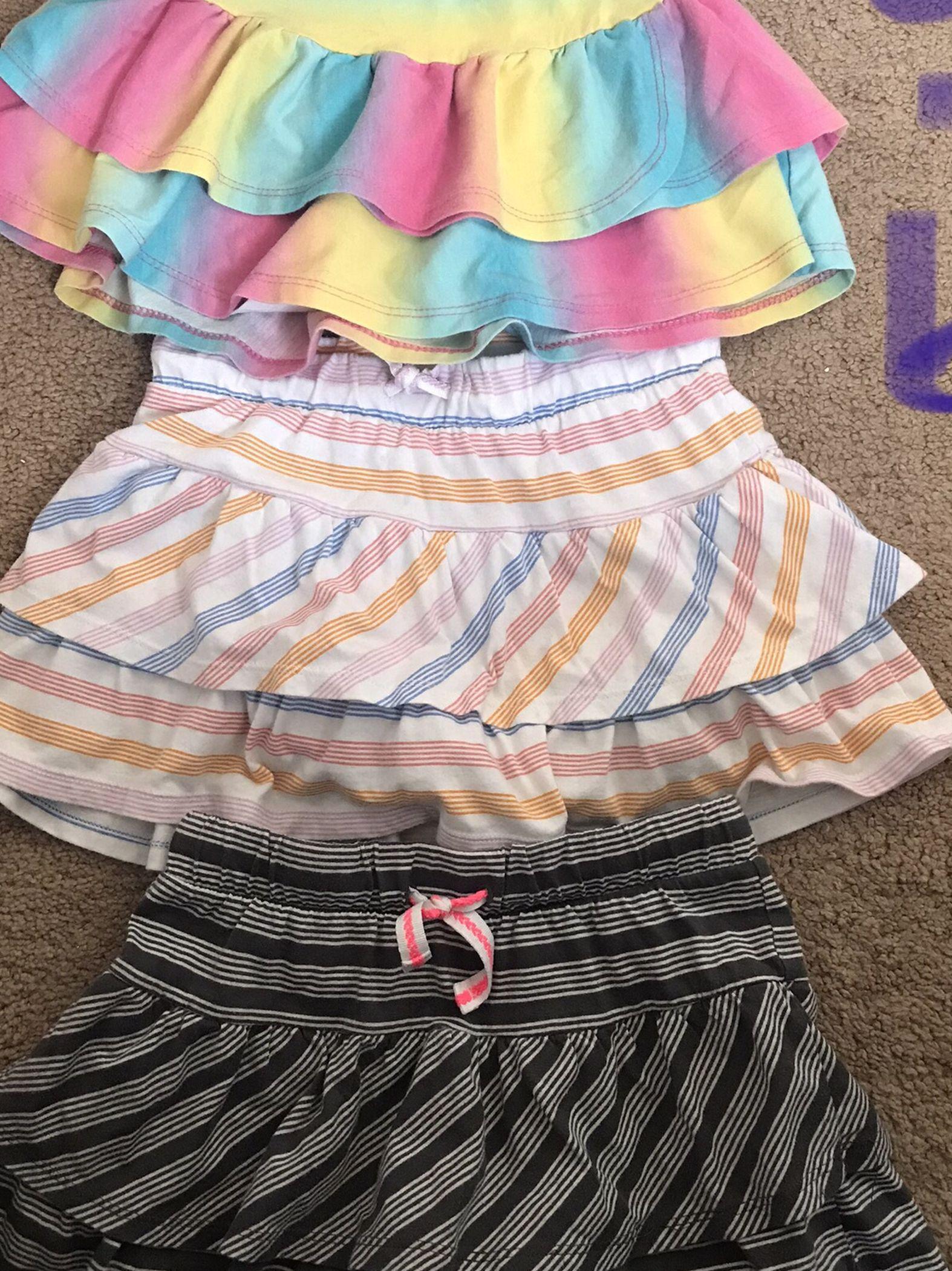 Girls Skirts And Shirts
